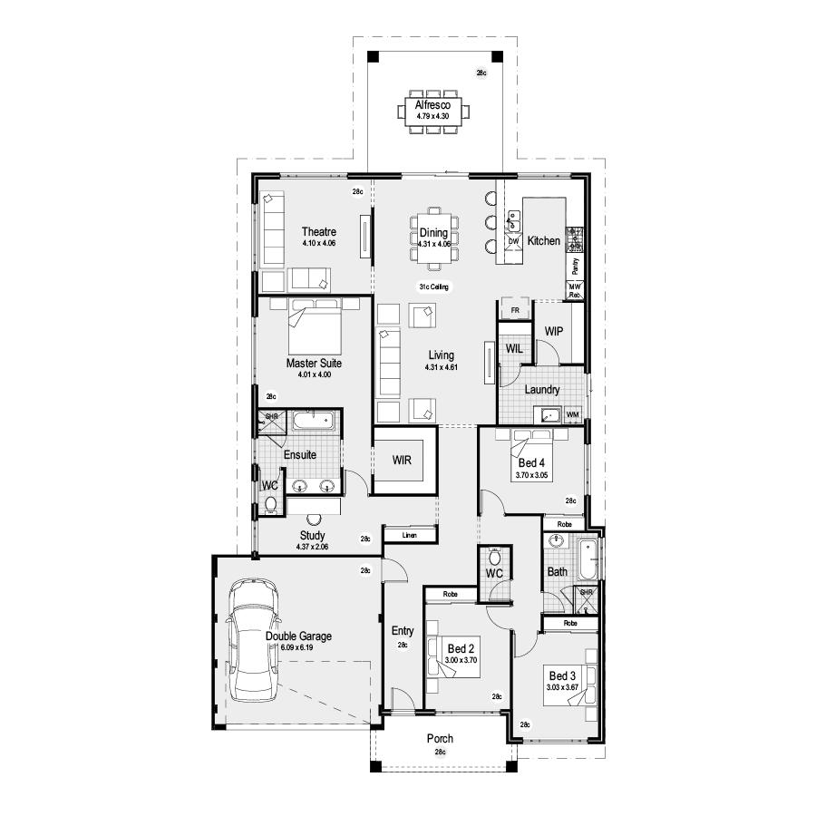 Aurora Choice Range 900x900 Floor Plan
