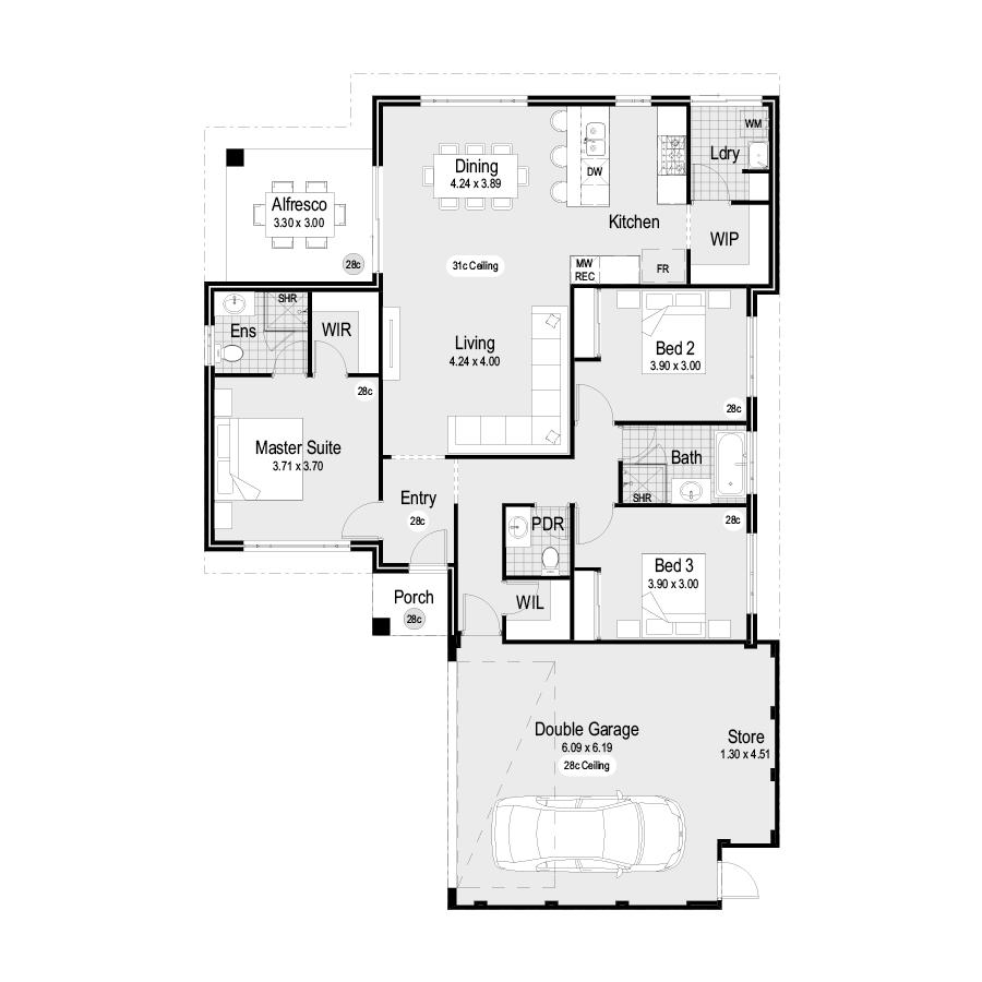 Balau Choice Range 900x900 Floor Plan