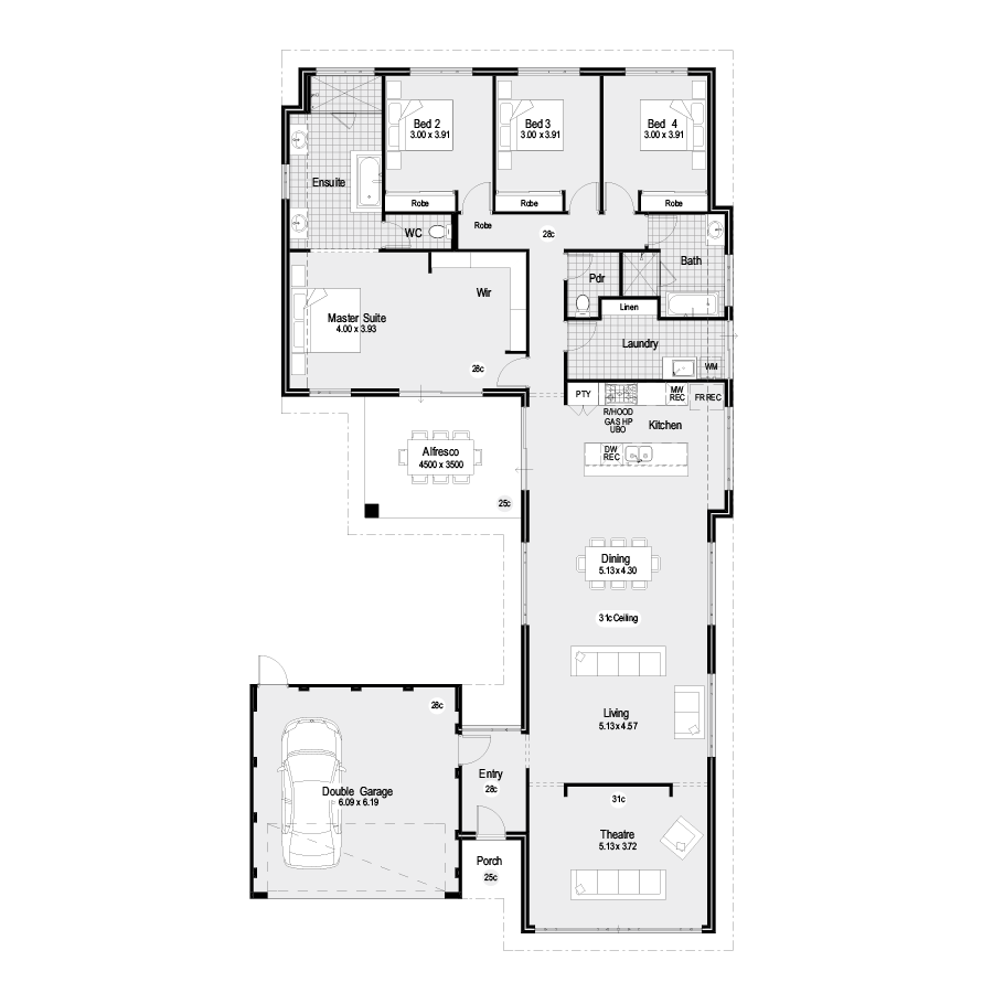 Eclipse Choice Range 900x900 Floor Plan
