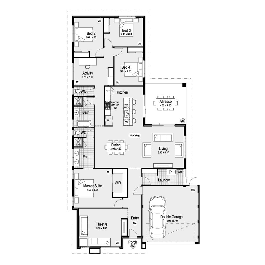 Laguna Choice Range 900x900 Floor Plan