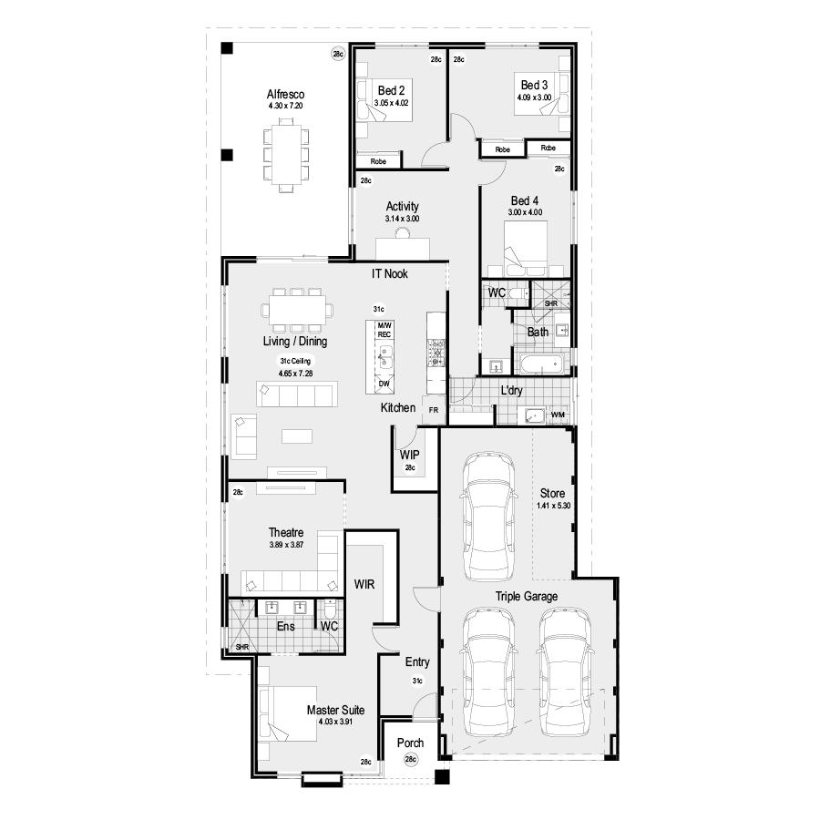 Unpacked Choice Range 900x900 Floor Plan