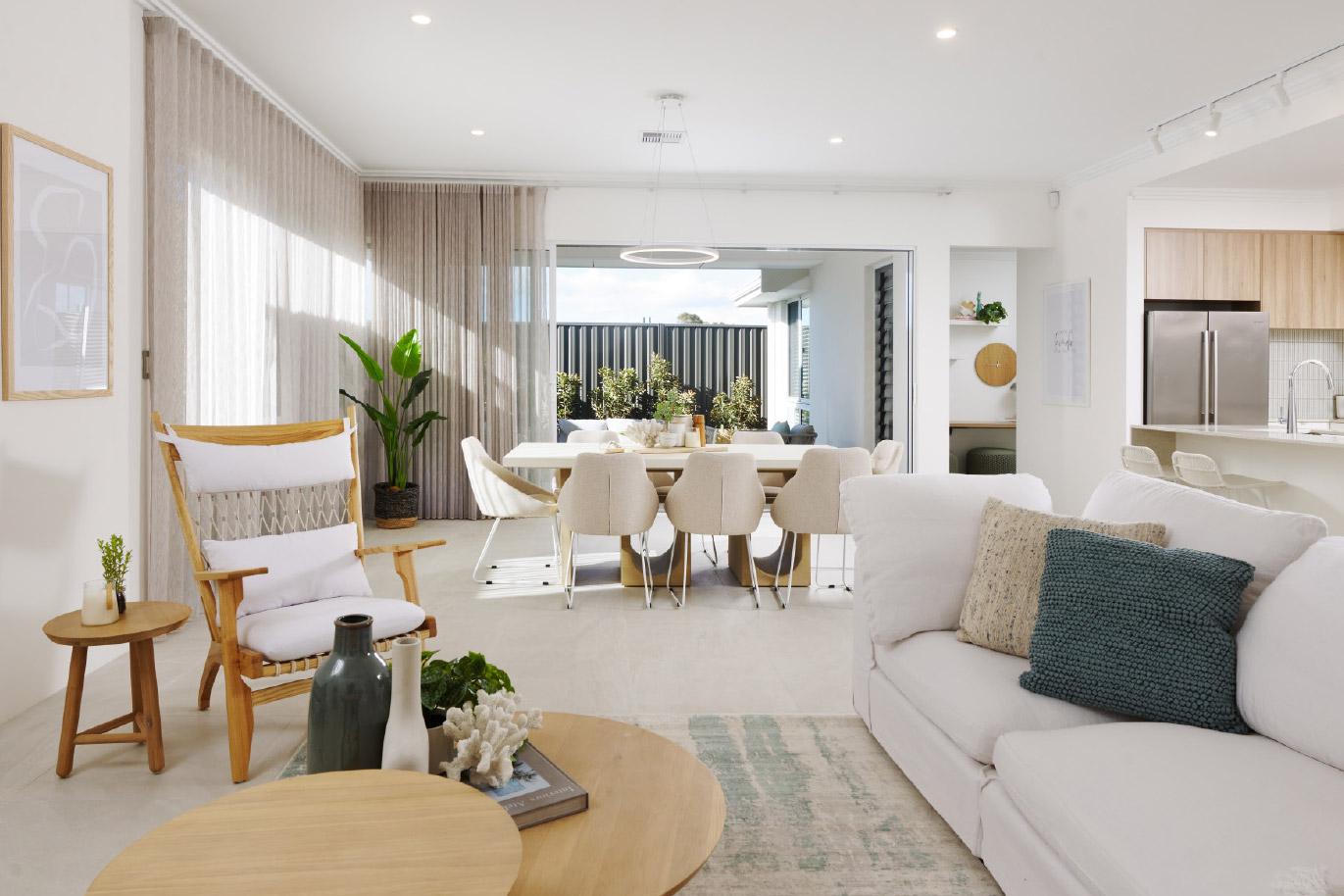 inspo image palm white colour scheme