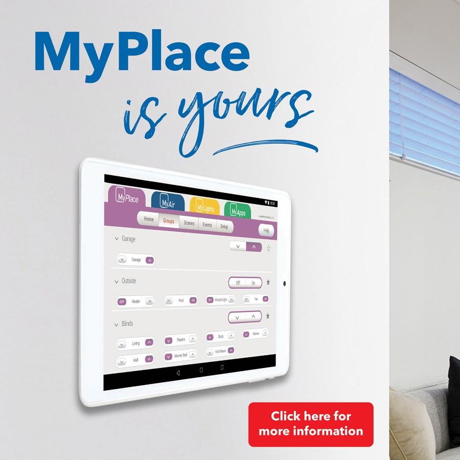 Website homepage promo panel